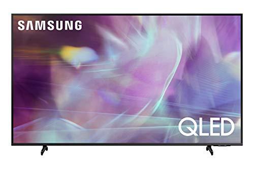 Samsung QLED 4K 2021 Q60A - 43' Smart TV, Risoluzione 4K UHD, Processore Quantum Lite 4K, Quantum Dot, Dual LED, OTS Lite [Efficienza energetica classe, G]