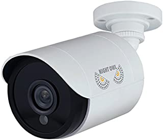 Night Owl Security, 2 Pack Add–On 1080p HD Wired Security Bullet Cameras (White)