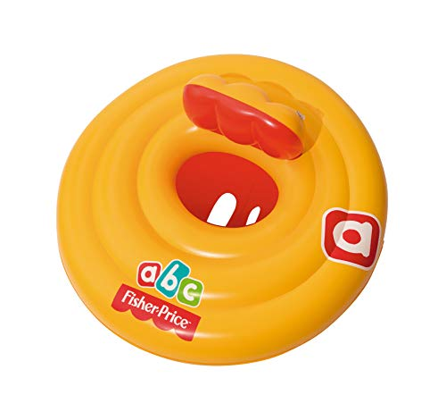 Flotador Bestway Fisher Price con asiento triple aro