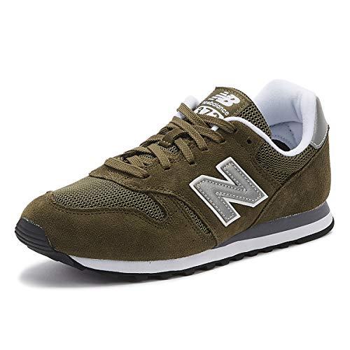 New Balance Herren 373 Core h Sneaker, Grün (Olive), 43 EU