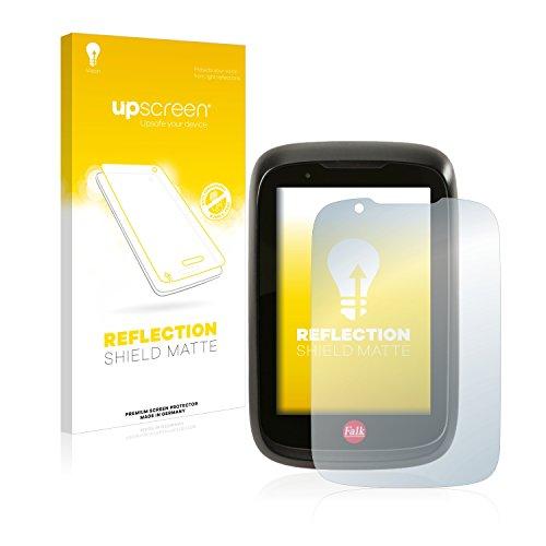 upscreen Entspiegelungs-Schutzfolie kompatibel mit Falk Tiger Geo – Anti-Reflex Displayschutz-Folie Matt
