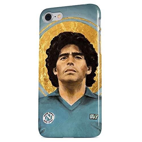 Maradona Cover 7 Smartphone Custodia per Tutti Modelli Apple iPhone Samsung Huawei Idea Regalo Collezione Telefono D10S Calcio Napoli Argentina Boca Juniors Barcelona El Pibe de Oro La Mano de Dios