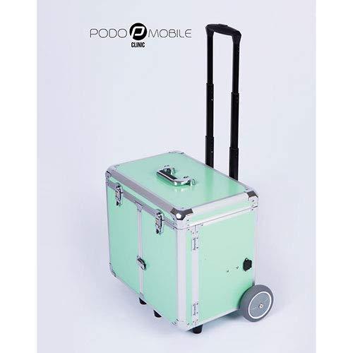 Fusspflegekoffer Modell Easy-Premium neues hochwertiges Design !! (Grün)