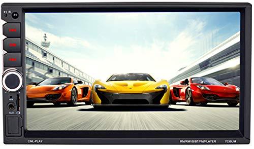 ZHBD Coche Stereo Multimedia Player, GPS Navigation for Car, Android 9.0 Bluetooth Llamada A Manos Libres, Sistema De Navegación De Radio DVD WiFi De Automóvil con Orientación De Voz