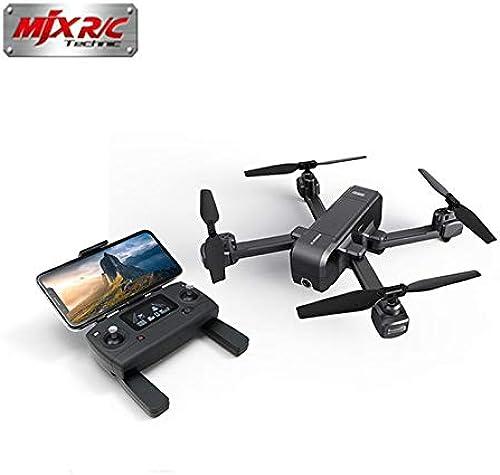 ETbotu Drohnen Quadcopter MJX X103W 5G WiFi FPV mit 2K-Kamera GPS Follow Me Faltbarer RC Quadcopter RTF 2 Batterie