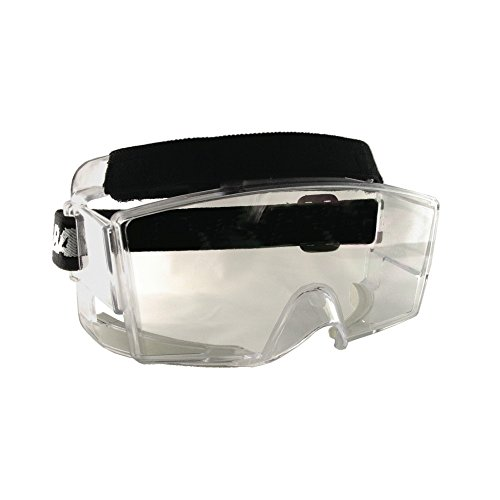 Bangerz HS-OTG Googles Protective Eyeguard, Anti-Fog Over The Glasses Safety Goggles for High Impact...