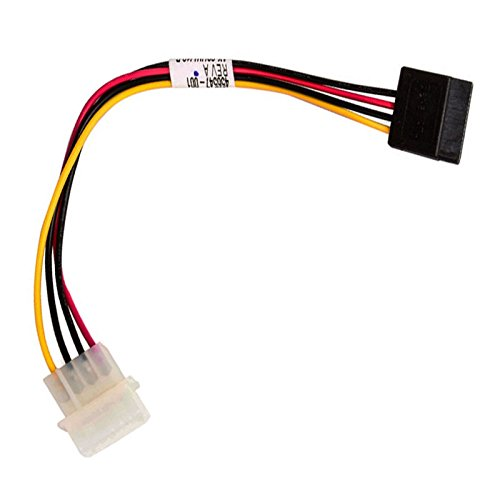 Cable adaptador Molex a SATA HP Amphenol 456547 – 001 22 cm ProLiant ML350