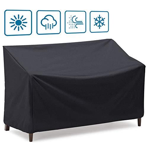 Housse de banc de patio Onlyme étanche 2/3/4 places, canapé, causeuse, housse de meuble