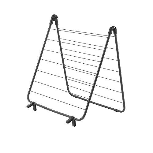 Metaltex Tendedero para bañera, Negro, 51x4x55 cm