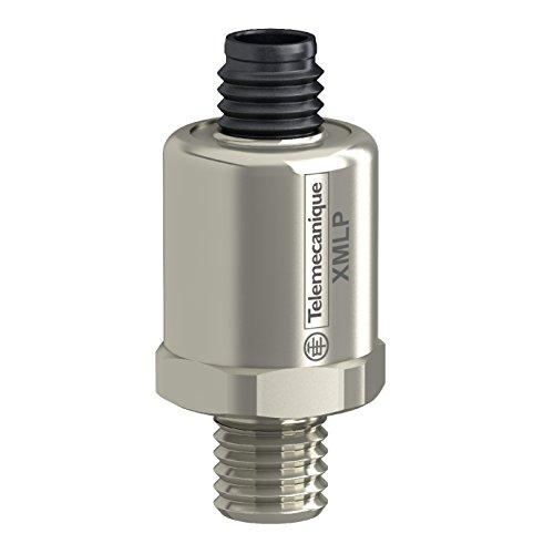 "Telemecanique XMLP2K0PD230 Pressure Sensor Transmitter, 0-2,000 psi Gauge Range, M12 Electrical Connection, 4-20 mA Analog Output, 1/4""-18"" NPT Male Connection"