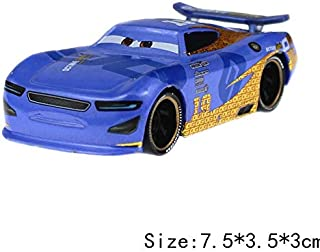 Diecasts & Toy Vehicles - Cars Pixar Cars 3 Cruz Ramirez Jackson Storm The King McQueen Metal 1:55 Diecast Cars Model Toys Kid Birthday Gift - by Faxe - 1 PCs