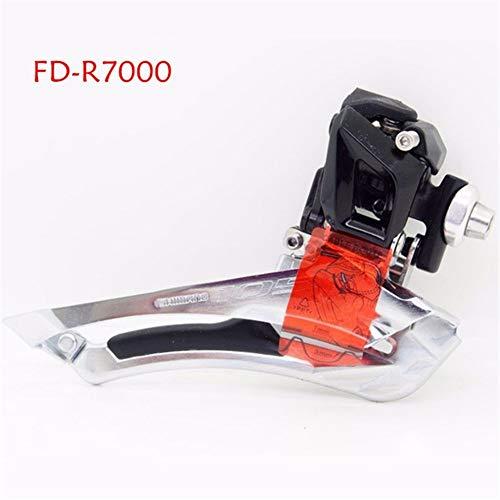 Shimano 105 FD-R7000 5800 5801 Desviador Delantero 2x11 Velocidades Desviador Delantero De Bicicleta 5800 R7000 Soldadura En 31,8 MM 34,9 MM Abrazadera (Color : R7000 Braze on)
