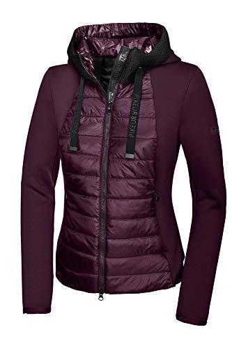 Pikeur Damen Materialmixtjacke IVORI New Generation Herbst-Winter 2019/2020, Bordeaux, 44