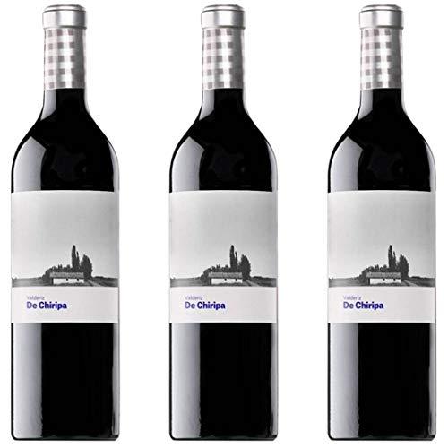 De Chiripa Vino Tinto Joven - 3 botellas x 750ml - total: 2250 ml