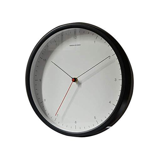 OH Reloj de Pared de la Garrapata Silenciosa de Cuarzo: Ideal para Su Uso en la Oficina, Hogar O Cocina. Movimiento de Cuarzo de Calidad Significa Que el Reloj Es Muy Preciso. sala