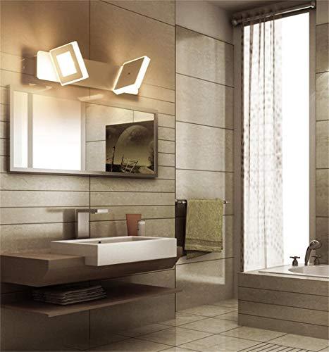 MU Hauptbadezimmer-Spiegel-Scheinwerfer Einfache und stilvolle geführte Spiegel-vordere Lampen-Schlafzimmer-Lampen Badezimmer-Wand-Lampen-warmes Badezimmer-Wand-Lampen-kreative Persönlichkeits-Birne