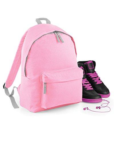 BagBase Junior Fashion mochila multicolor Classic Pink/Light Grey Talla única