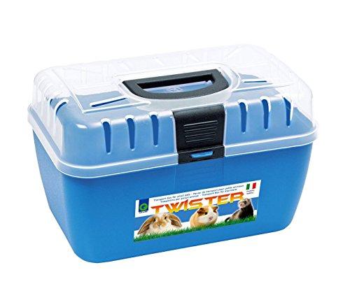 10575 Transportín para roedores y animales pequeños mod. TRAVEL - Azul