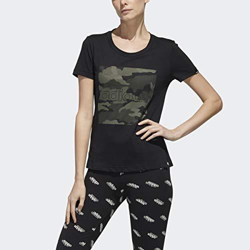 adidas W Boxed Camo T - Camiseta Mujer