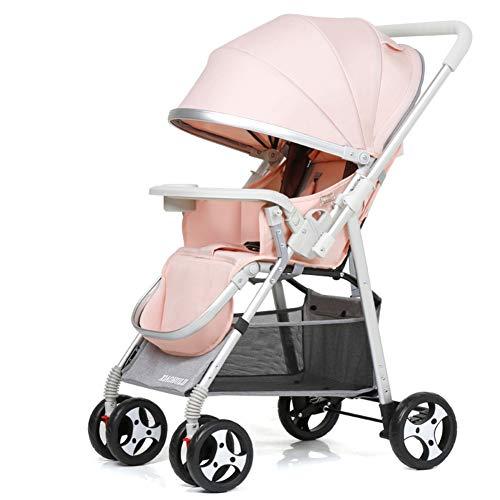 Opvouwbare omkeerbare kinderwagen, ultralicht wasbare baby paraplu wandelwagen draagbare kinderwagen geweldig voor vliegtuig-d