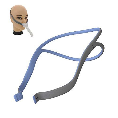 WSN P10 Kopfbedeckung, Nasenpolstermaske Kopfbedeckungsgurt Nasenpolstersystem Ersatzkopfbedeckung Ersatzkopfbedeckung Kompatible CPAP-Maskenkopfbedeckung