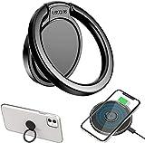 Anello Supporto Ring Cellulare,Lecone Rotazione 360° Telefono Ring Holder con caricabatterie wireless per iPhone 11 / XR/XS, Samsung S20 / S10 / Note 10