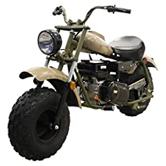 【Bigger & Better Than it's Counterparts】 Strong 200cc four-stroked, air-cooled engine surpasses virtually any other mini bike on the market. This deluxe-sized mini bike effortlessly accommodates teens and adults up to 200 lbs! Forget about all of you...