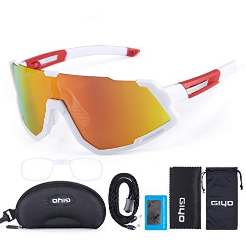 Gafas De Sol De Ciclismo Gafas De Bicicletas, Gafas De Ciclismo Al Aire Libre Gafas De Sol Polarizadas para Mujeres Y Hombres, Correr Pesca De Pesca Gafas De Béisbol De Golf,D