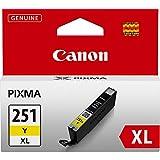 Canon CLI-251XL Yellow Ink Tank Compatible to MG6320 , IP7220 & MG5420, MX922, MG5520, MG6420, MG7120, iX6820, iP8720, MG7520, MG6620, MG5620
