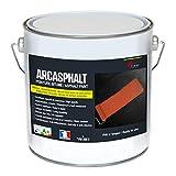 Peinture bitume goudron asphalte macadam résine sol extérieur béton enrobé rénov...