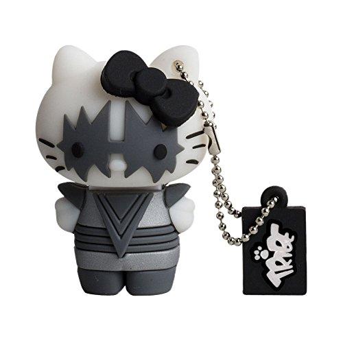 Tribe FD005402 Hello Kitty Kiss Catman 8GB Speicherstick USB 2.0 schwarz/grau/weiß/rot
