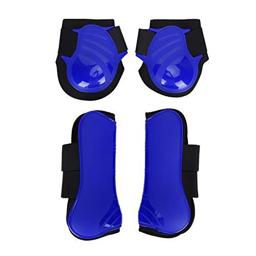 Paratendini per cavallo (4 pezzi  Anteriore e posteriore