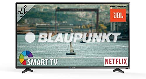 Blaupunkt D-LED HD Smart TV 81 cm (32 Zoll) Fernseher, Triple-Tuner, BLA-32/138Q-GB-11B4-EGBQUX-EU
