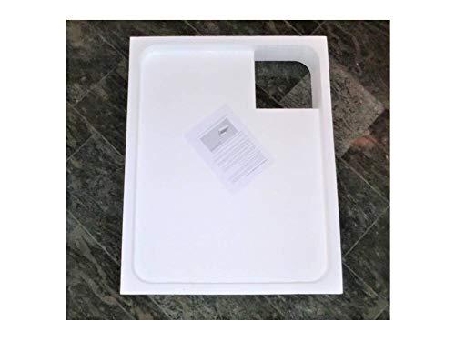 Universal Duschwannenträger aus Styropor für Acryl Duschen 100 x 70 x 2,5 cm superflach; Höhe des Trägers 14,5cm