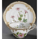 China Cup & Saucer Spode Stafford Flowers
