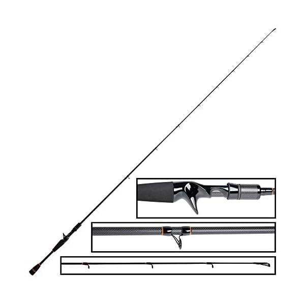 Baitcast Zanderrute 180 cm bis 40g von ZECK Fishing