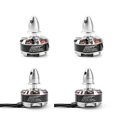 GARTT 2 Paar ML2205S 2300KV Brushless Motor 3-4S für RC Mini Racing Drohnen QAV 210 250 300 FPV Quadcopter Rahmen