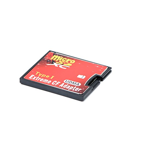 QUMOX microSD to CF Compact Flash Memory Card Adapter Reader Adapter Type 1
