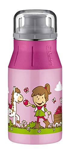 alfi elementBottle Trinkflasche, Edelstahl, Farm rosa, 0,4 Liter