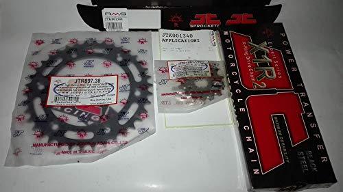 Kit transmisión cadena corona piñón para KTM 250 EXC-F Enduro de 2007 a 2011