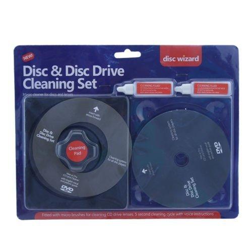 Disco Juego de limpieza–ofrece para reproductores de CD y DVD de primeros auxilios