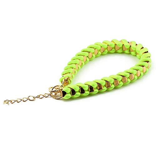 Libertroy fashionHandmade Bangle Womens Girls Colorful Manual Braid Chain Bracelet Pulsera Moda...