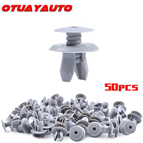 50pcs Wheel Arch Trim Panel Retainers//Clips for Audi VW 70186729901C
