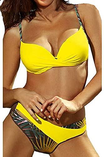 Voqeen Conjunto de Bikini Push Up Traje De Baño Mujer Sexy Bañador de Baño Sujetador...