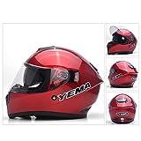 Ra Helmet Completo Casco De Moto De Cara Abierta,Anti-Niebla Racing Casco De Moto-f