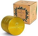 GrindNation - Grinder (diámetro de 40 mm, 4 Piezas), Aluminio, Dorado, Diameter 40 mm