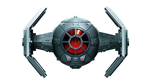 Star Wars Mission Fleet – Véhicule Chasseur TIE avancé et Figurine Dark Vador de 6 cm