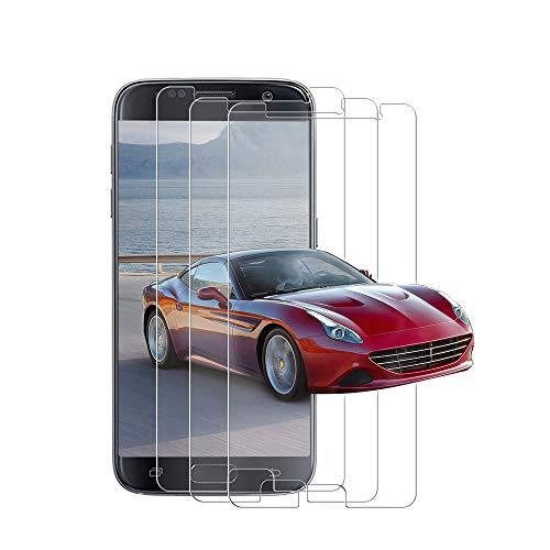 [3 Pièces] Verre Trempé pour Samsung Galaxy S7, Film de Protection d'Ecran, 3D Touch Compatible, 9H Dureté, Anti-Huile, HD Protecteur d'Ecran pour Samsung S7 - Transparent