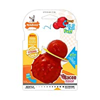 Fill this stuffable dog chew toy with treats and freeze for a long-lasting treat session Raised dental nubs help to keep teeth clean and prevent the build-up of plaque and tartar Bounces and rolls unpredictably for exciting playtime, keeps dogs busy ...
