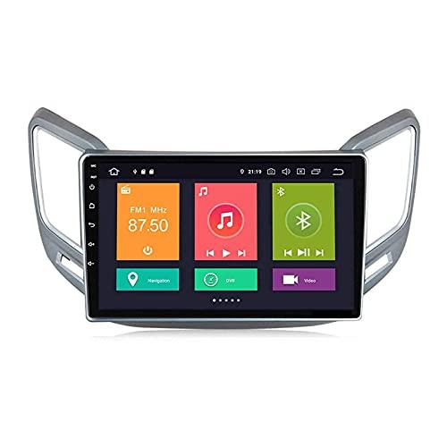 yanzz para Changan CS15 2016-2018 Android 10.0 Unidad Principal Radio de Coche Estéreo Navegación por satélite Reproductor Multimedia Receptor FM Pantalla táctil de 9 Pulgadas Navegación GPS con B
